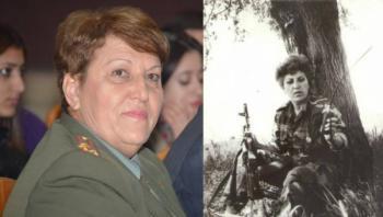 Աիդա Սերոբյանը մարտի դաշտում և պատերազմից հետո